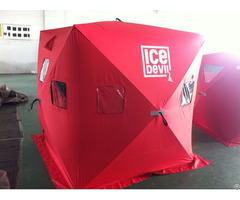 New Hot Sale 2 Person Cold Resistant Ice Fishing Tent