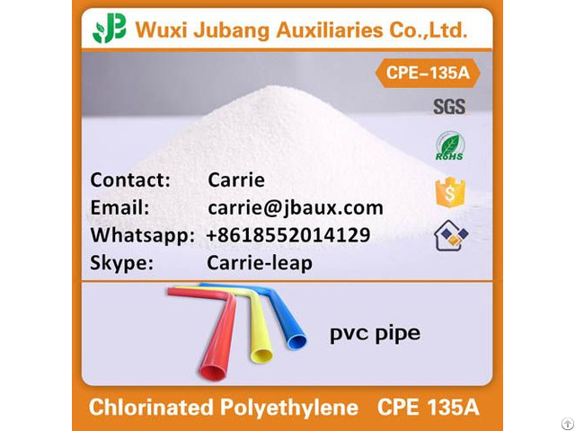 Cpe 135a For Pvc Pipe And Fitting