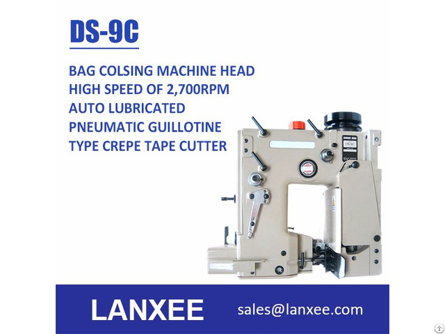 Lanxee Ds 9 Series High Speed Bag Closing Machine Head