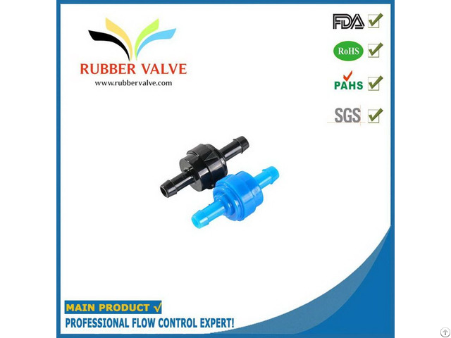 Connection Size 1 4 Plastic Check Valve