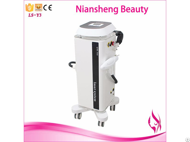Nd Yag Laser Machine Ls Y3 For Spot Birthmarks Tattoo Removal