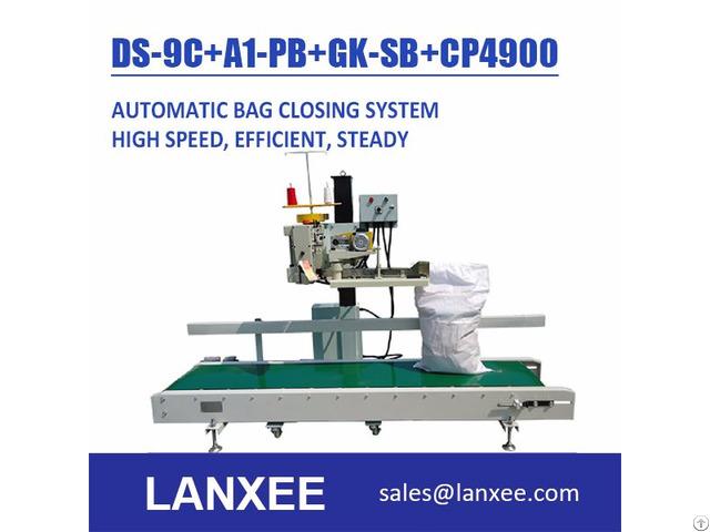 Lanxee Industrial Bag Closing Machine System