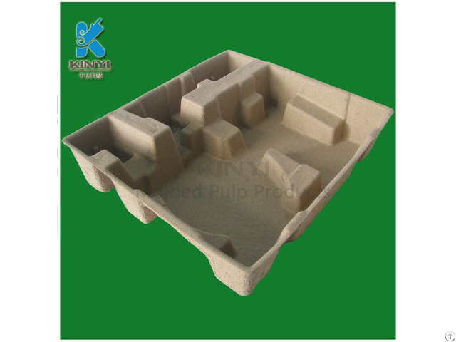 Biodegradable Pulp Molded Inner Insert Carton Box Packaging