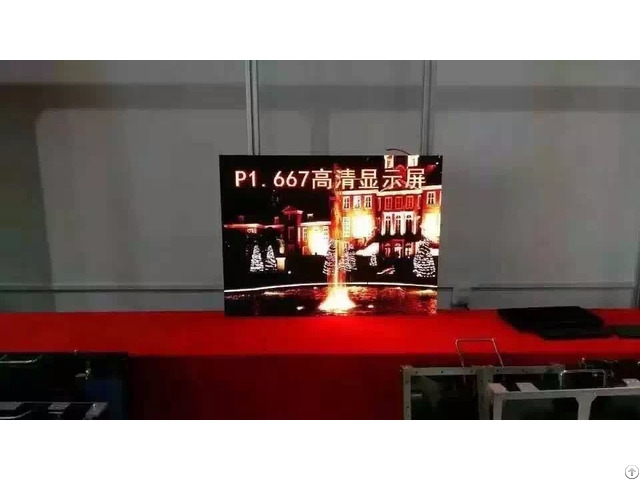 High Definition P1 667 Indoor Led Display Panel For Stage