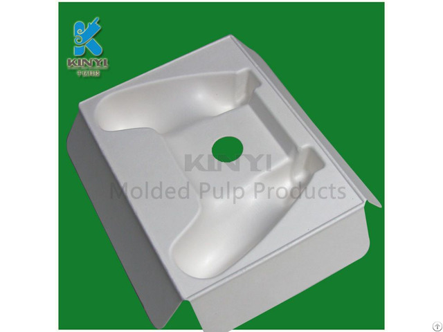 Environmental Biodegradable Mold Pulp Packaging Tray For Electronics