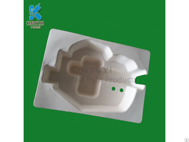 Biodegradable Bagasse Pulp Packaging Tray For Electronic