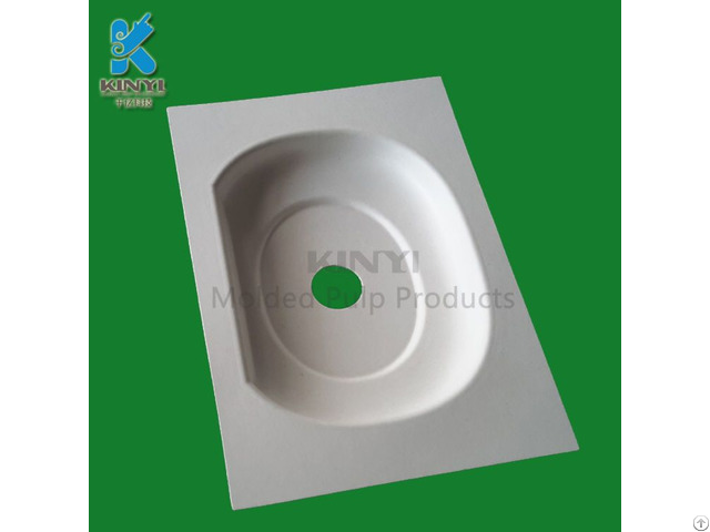 Bagasse Pulp Packaging Tray Electronic Use Eco Friendly