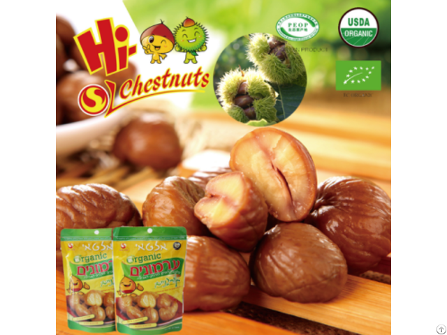 Ready To Eat Chestnuts Snacks