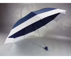 Three Folding Summer Uv Protection Umbrella