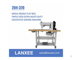 Lanxee 204 370 Durkopp Adler Flat Bed Heavy Duty Sewing Machine
