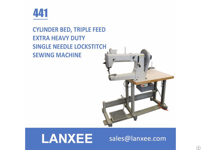 Lanxee 441 Single Needle Cylinder Bed Heavy Duty Sewing Machine