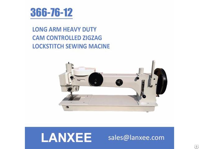 Lanxee 366 76 12 Cam 1 2 3 Steps Zigzag Sewing Machine