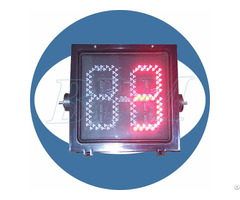 Led 400mm Red Countdown Timer