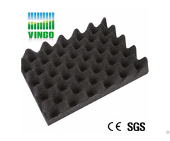 Heat Resistant High Density Polyurethane Panels Egg Crate Acoustic Foam