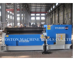 Hoston 4 Roller Hydraulic Plate Rolling Machine