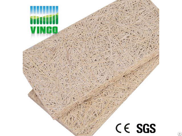 Building Material Aound Proof Wood Wool Insulation Indian Carrom Board