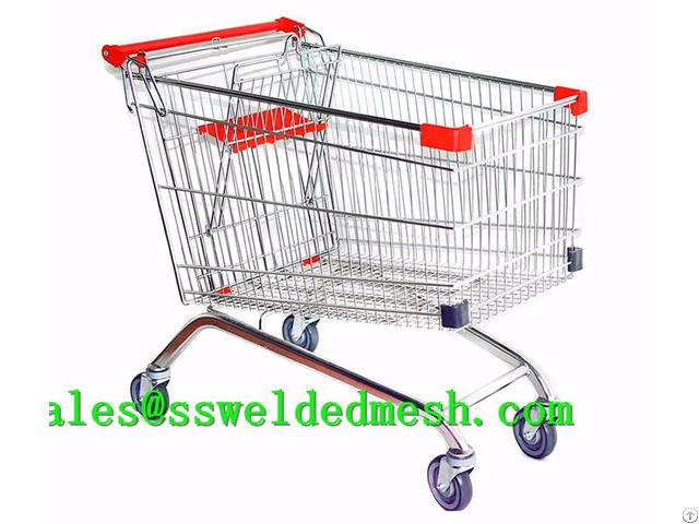 Stainless Steel Welded Mesh Cart