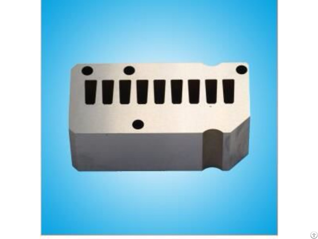 Tungsten Carbide Stamping Mold Parts  With Competitive Price For Industrial Usage