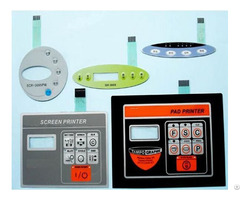Customized Pvc Pc Pet Keypads Plastic Switch Panel