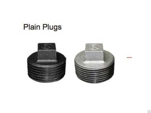 Supply Galvanized 281 Plain Plug