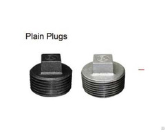 Supply Galvanized 281 Plain Plug