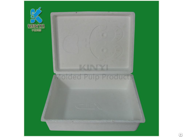 Natural And Biodegradable Customized Baby Shoe Box Packaging