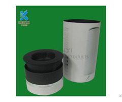 Black Color Biodegradable Water Bottle Packaging Box