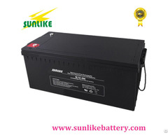 Lead Acid 12v180ah Solar Power Deep Cycle Battery For Ups