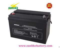 12v100ah Solar Deep Cycle Lead Acid Vrla Battery For Backup