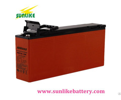 China Manufacturer 12v125ah Front Terminal Access Battery For Telecom