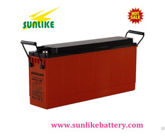 High Power 12v100ah Front Terminal Sla Battery For Emergency Lighting