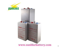 2v1000ah Opzv Tubular Gel Battery With 25years Life