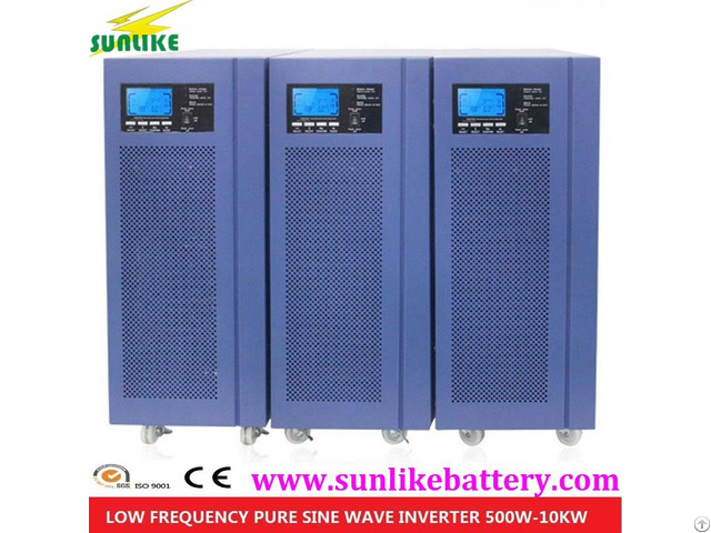 Off Grid Solar Power Pure Sine Wave Inverter 8000w With Controller