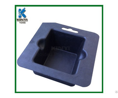 Black Color Bagasse Pulp Electronic Packaging Tray