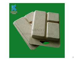 Bagasse Pulp Electronic Packaging Box Environmental Biodegradable