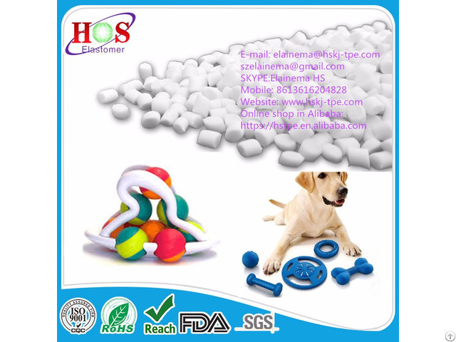 Food Grade Tpe Granules For Pet Toys