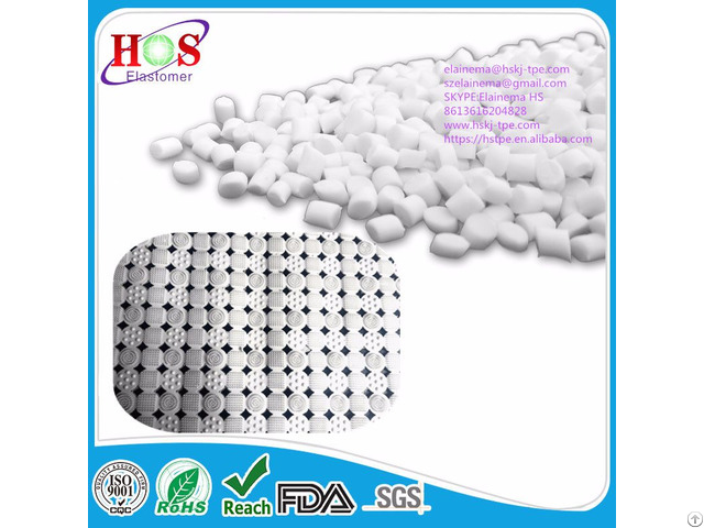 Tpe Material Granules For Bath Mats