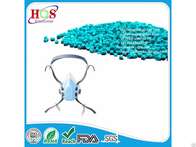 Free Sampled Injection Molded Thermoplastic Elastomer Tpe Granules For Medical Mask