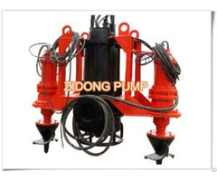Submersible Sand Pump With Agatitor