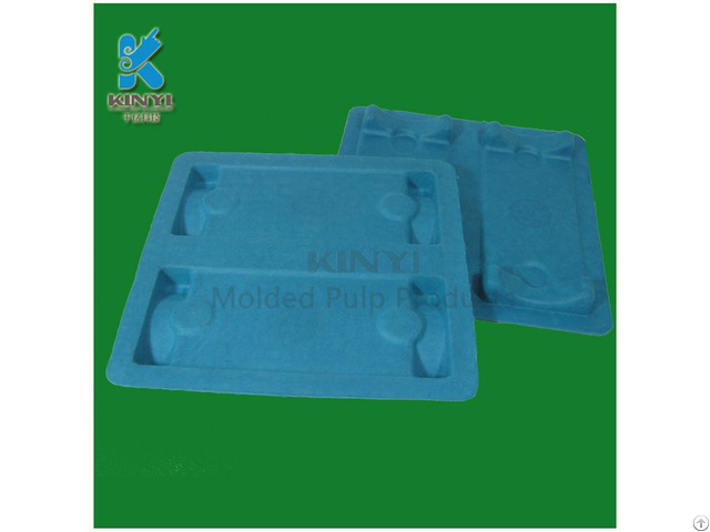 Colorful Molded Sugarcane Bagasse Pulp Packaging