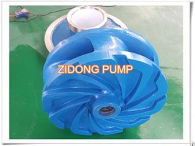 Metal Liner Slurry Pump Impeller