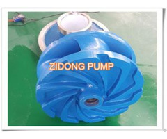 Metal Liner Slurry Pump Impeller