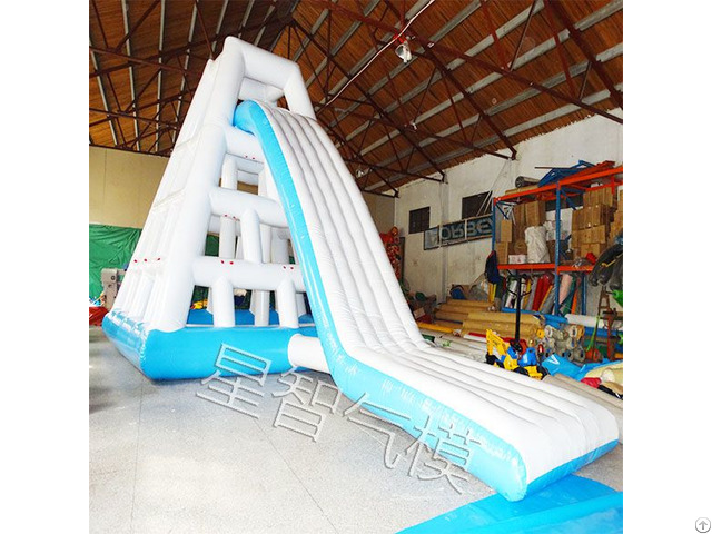 Hot Selling Inflatable Water Slide With Pool Made Of 0 55mm Pvc Tarpaulin For Sale