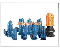 Wq Non Clogging Submersible Sewage Pumps