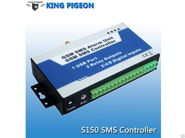 Gsm Sms Controller Alarm For Water Pump Solution S150