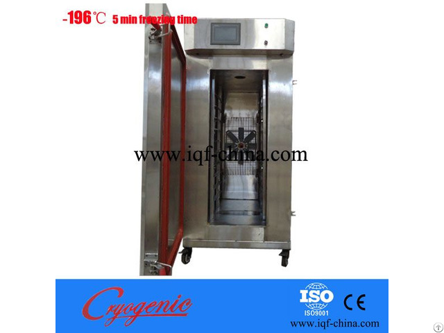 Iqf Freezer For Seafood Vegetable Meat Fruit