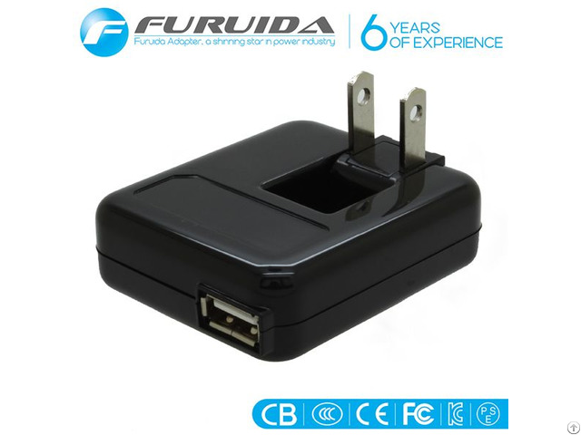Dc5v 1a Foldable Us Plug Usb Charger