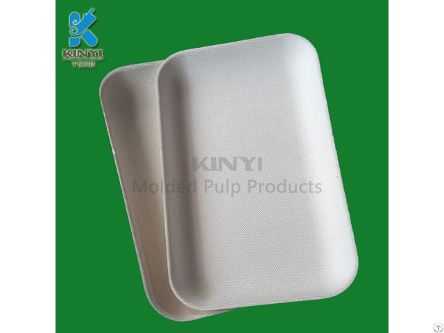 Biodegradable Paper Pulp Tray Phone Packaging Carrier Holder