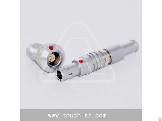 Touch 3pin Straight Plug Fgg 0b 303 Connector For Processing Equipment