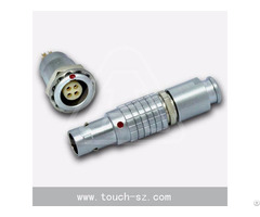Touch 4pin Straight Plug Fgg 0b 304 Connector For Ul61010 Equipment